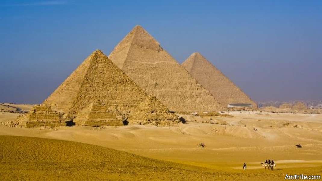 Why are the pyramids so weirdly shaped?