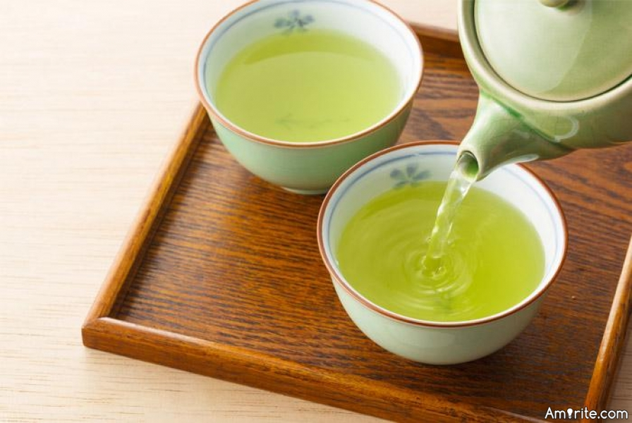 What has been your addiction level, when it comes to green tea ****?