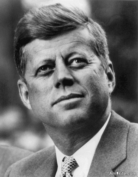 JFK was shot accidentally - I know this should stay under the wraps of mystery and other crap - by a member of his own security detail. Tragically funny, but true.