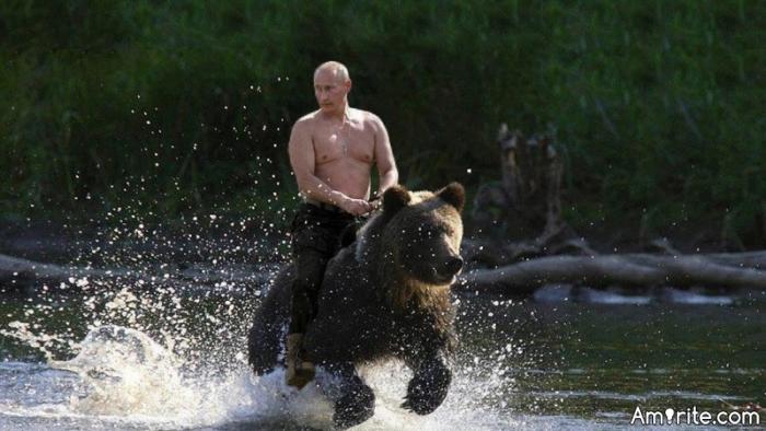 Would anyone like to wish Putin a Happy Birthday?  😄