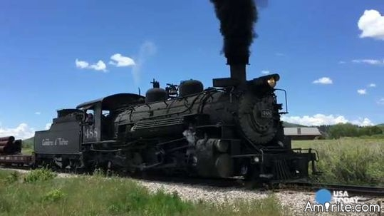 HAVE you ridden on a steam powered train?