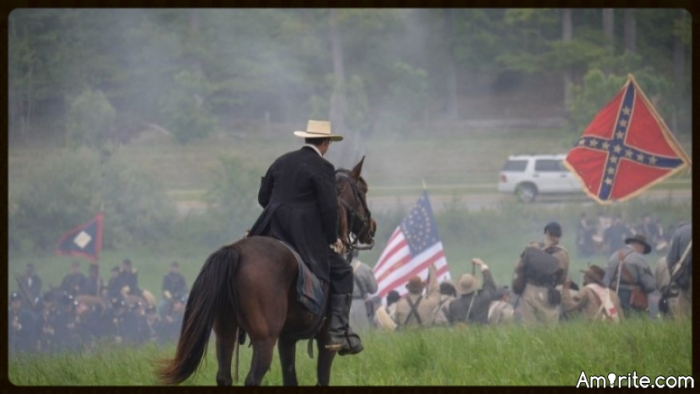 "Civil War Reenactors Targeted with Pipe Bomb ""We're historians. We're not hate groups."""