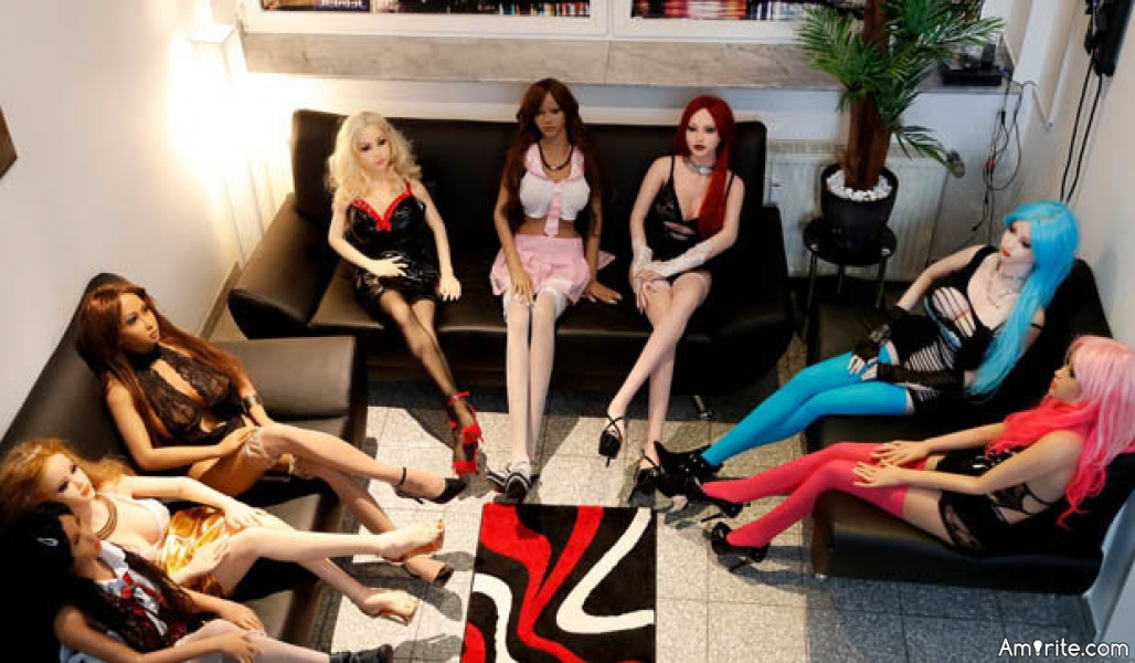 Samantha, the <b>** doll, will soon be tasked with judging the morality of her customers at the new S&#38;M </b>** doll bordello, dubbed the &#34;Bordoll&#34; in Dortmund, Germany. Poor Samantha... <strong>Amirite?</strong>