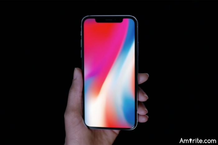 Does the iPhone X screen have a notch, or does it have horns?