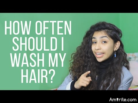 How often do you wash your hair...