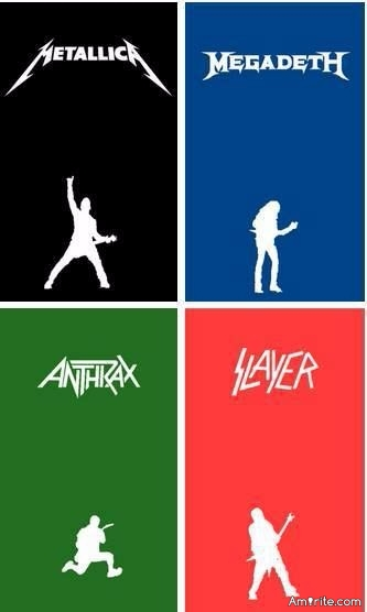 Your choice for your favorite of big four of thrash metal