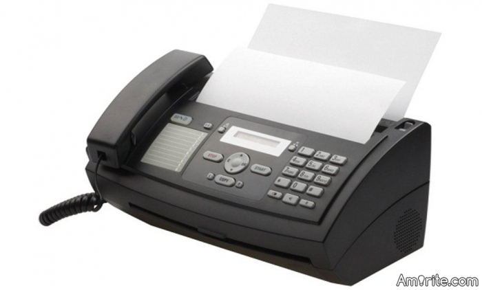Have you ever had **** with a fax machine?
