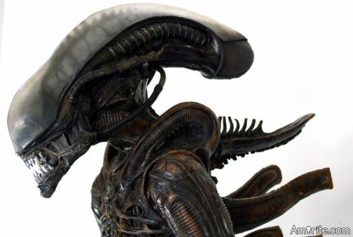 Why are Aliens incapable of having any fun? I'd love to see a movie, where this particular species (thanks, Giger) just relaxes and smokes a joint, gets drunk and tries to have **** with a mail box.