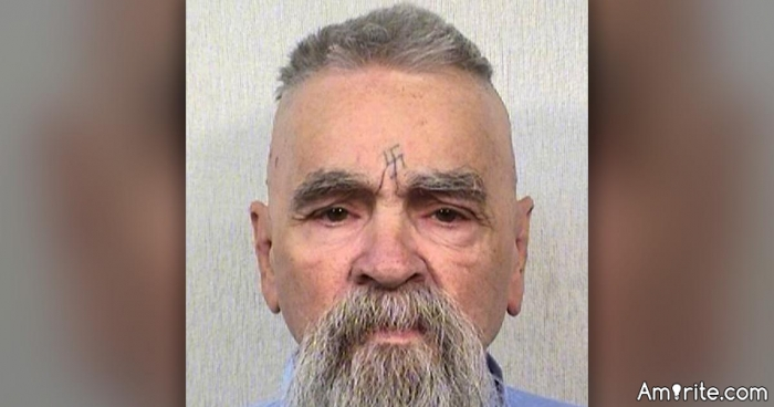 Charles Manson is DEAD!