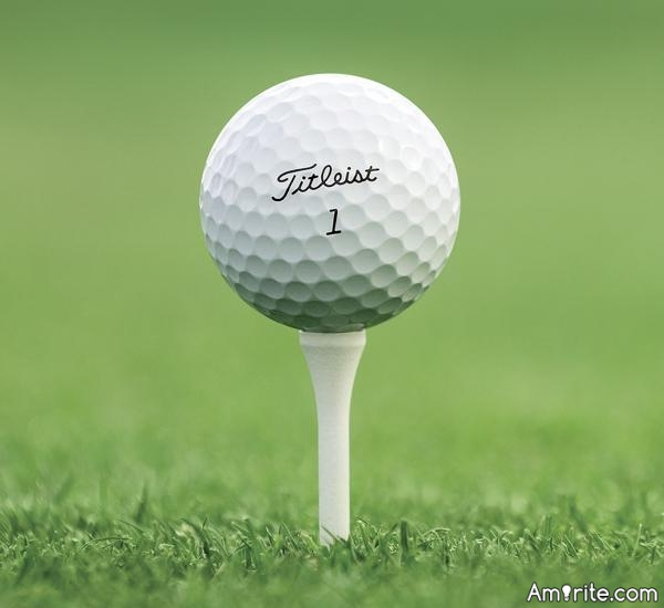 Have you ever been hit by a golf ball?