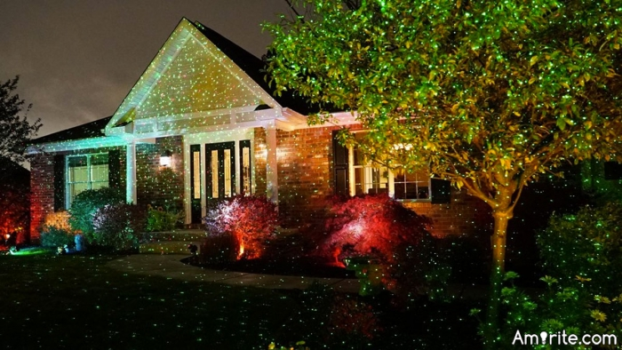 Ever used these Laser lights for outdoor Christmas lighting?