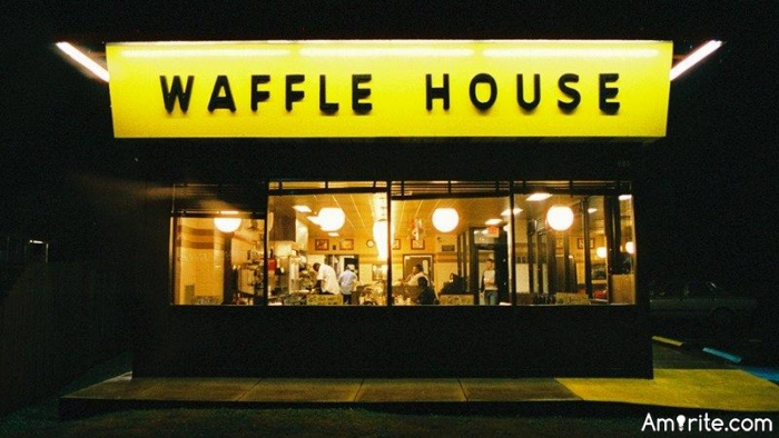 Waffle House...It's Where You Go For The Midnight Munchies