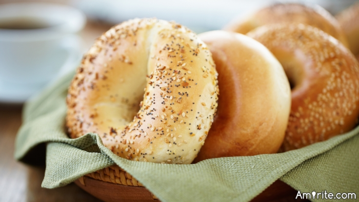 What's your favorite thing to put on bagels?