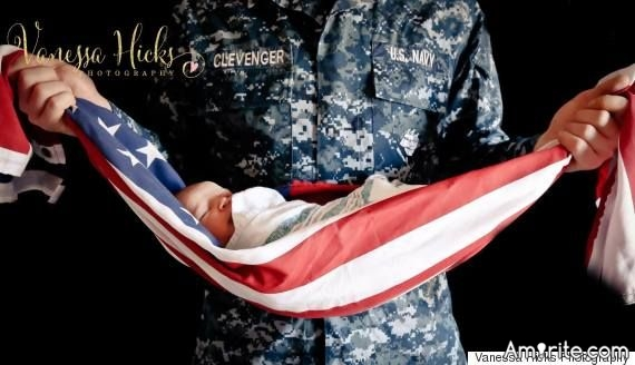 Is this picture disrespectful of the flag?