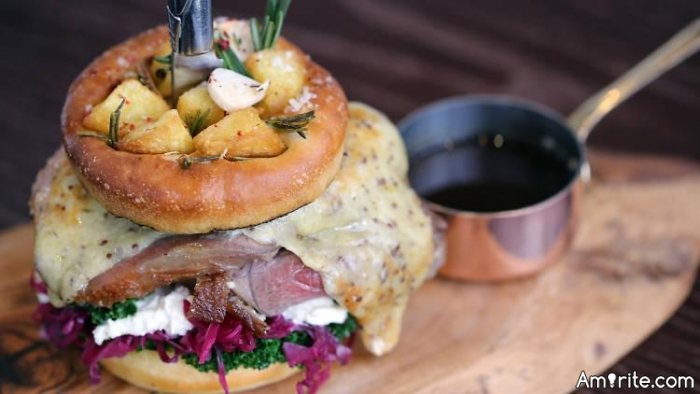 The Sunday Roast Burger? Would you eat one?