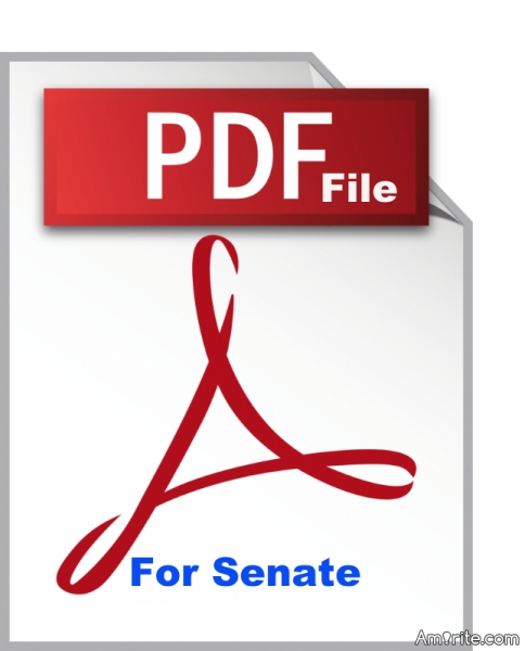 I just learned that Trump endorsed a PDF file was for the Senate.  First the Republicans say corporations are people now they want files to become members of congress.  This is absurd!