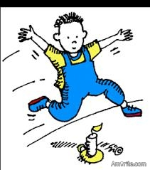 Jack be nimble, Jack be quick! Jack jumped over the Candlestick!