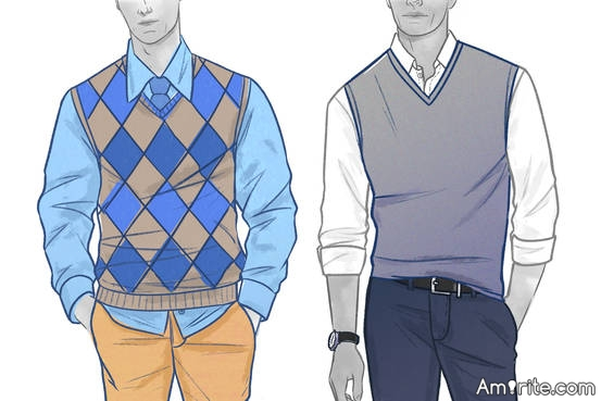 Sweater Vests: Just say NO!!