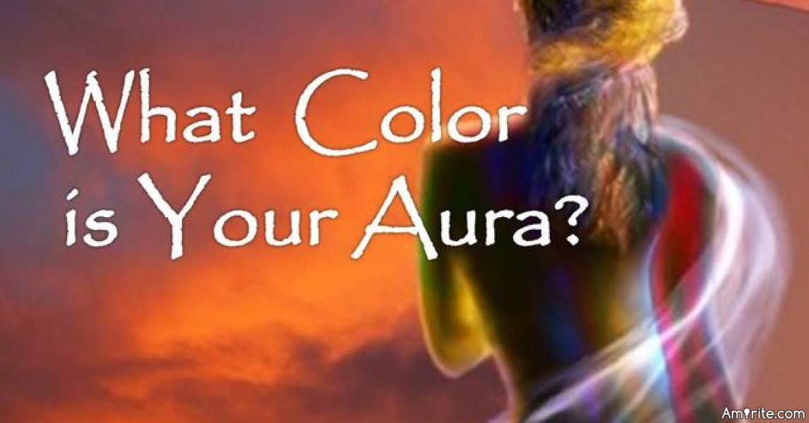 What is the colour of your aura?