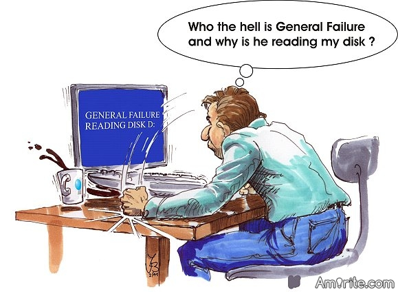 Who is General Failure and why is he reading my hard drive?  He was trying to get in touch with Private Data but if it involves a Major Disaster I understand that the fault lies with General Protection. Furthermore, if you cannot reboot it may be because of a corrupt Colonel.   ***    Link: http://jokes4all.net/army-jokes?p=3