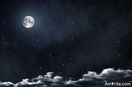 When's the last time you just stood outside at night and gazed at the stars and moon?