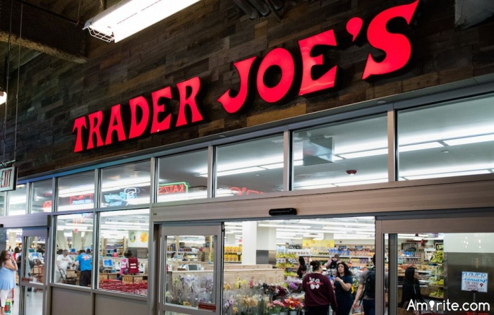 "Many Trader Joe's products have five-syllable names, but to get more specific, you can sing most Trader Joe's product names to the tune of ""Eleanor Rigby"" by The Beatles. Eleanor Rigby when sung sounds like Ele-a-nor Rig-by. Try singing the following Trader Joe's products to the tune of ""Eleanor Rigby,"" because it's super satisfying. Mini beef tacos. Super burrito. Pita bite crackers. Three seed beet crackers. Pesto and quinoa."