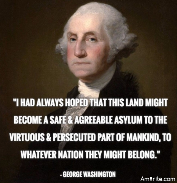 George Washington's view on sh*thole countries