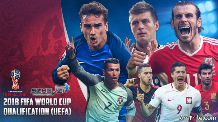 Who's looking forward to the 2018 World Cup, and who do think will win it all?