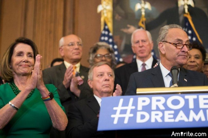 Anti-DACA Democrats to shut down government?
