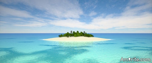 If you were stranded on a desert island,what wouldn't you miss about daily life?
