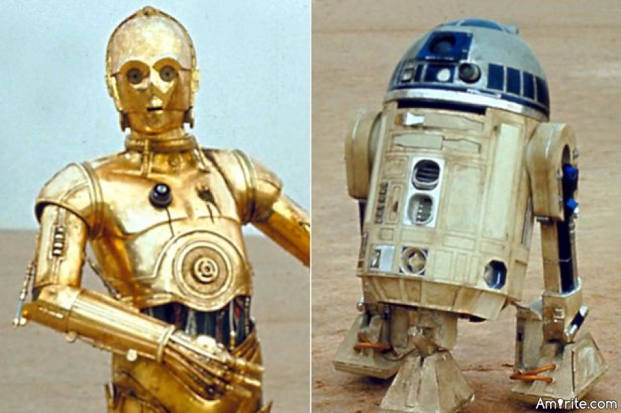 Who would you take with you on a road trip, C-3PO or R2?