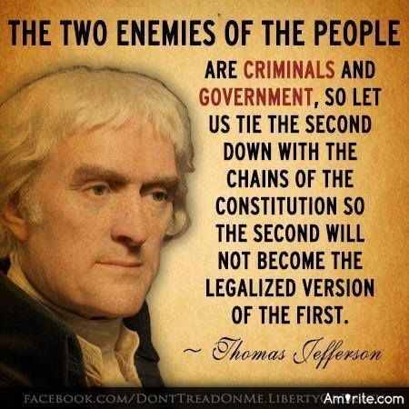 Do you think the founding fathers knew a revolution might occur in the future and put safeguards in place so we could defend ourselves thats why big government is trying hard to take our fundamental rights away?