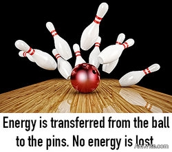 Science says energy cannot be created or destroyed, only moved around. So, if energy cannot be created, where did all the energy come from?