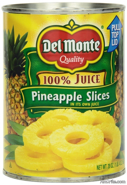 Have you ever had an intelligent conversation with a can of pineapple slices?