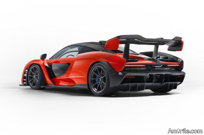 How many wizards does it take to change a gear in a McLaren Senna?