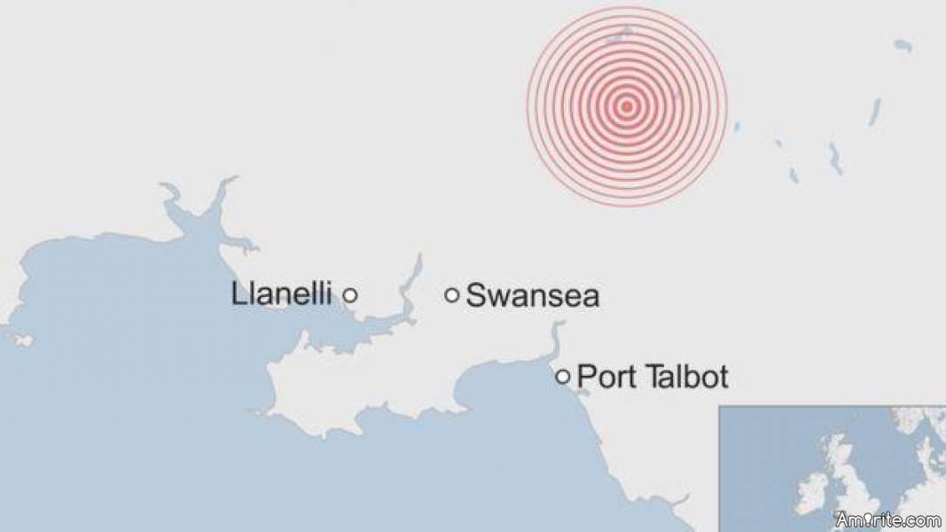 Minor earthquake in Britain.Country overreacts.
