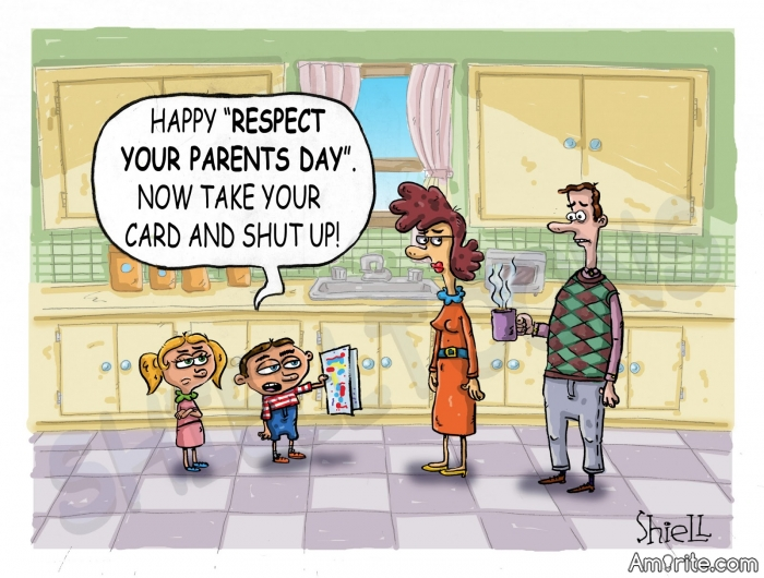 Educational Wisdom or Irritated Parents ?      <b>*     We spend the first twelve months of our children&#8217;s lives teaching them to walk and talk, and the next twenty-four years telling them to sit down and shut up!     </b>*     Link: https://www.free-funny-jokes.com/funny-parent-jokes.html