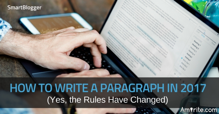 Authors here should be able to separate their posts into paragraphs.