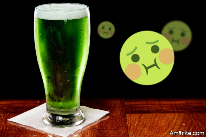 Saturday is St. Patrick's Day, do you celebrate by drinking green beer?   If not, how do you celebrate?