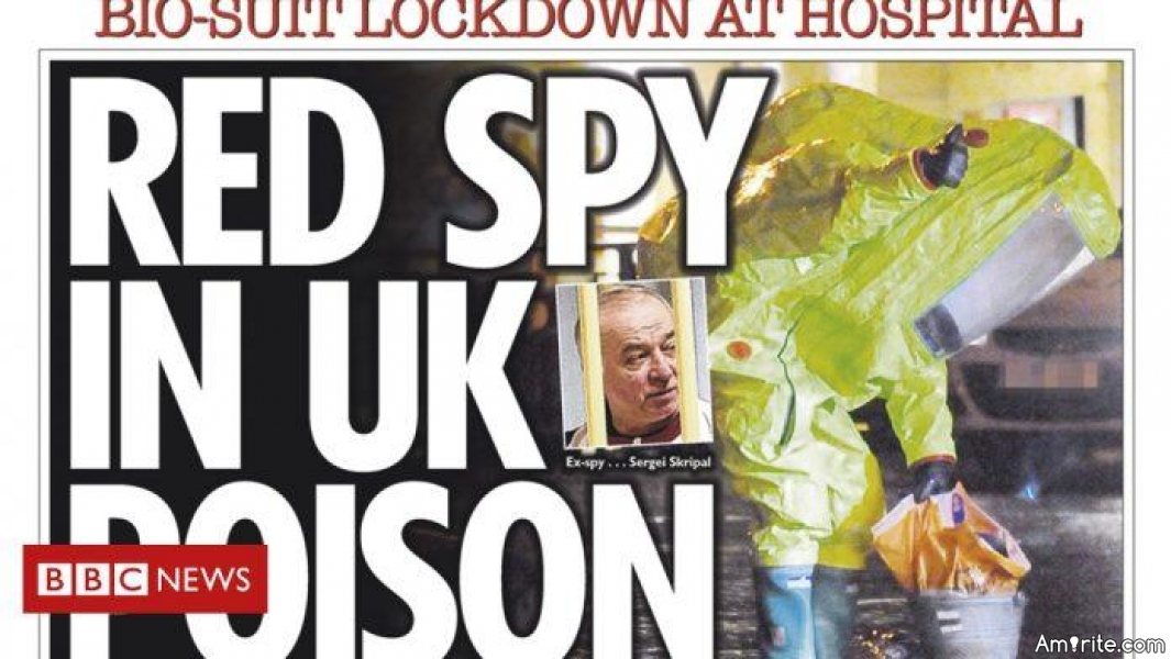 How plausible is this alternate theory of the UK Russian spy poisoning?