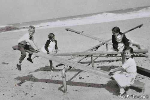 The last time you went on a swing or teeter-totter was <em>circa</em>: