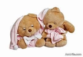 What makes a teddy bear like to sleep?