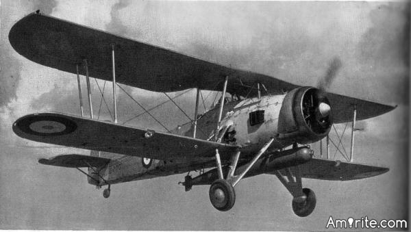 Do you know what the name of this old Biplane is that played havoc with the Kriegsmarine and the Regia Marina in the early days of WW2?