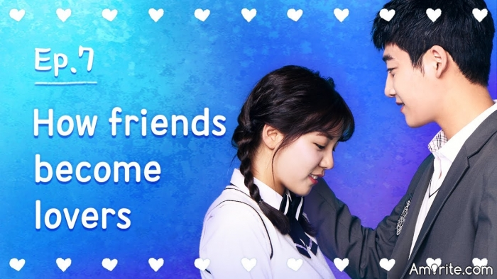 Friends becoming lovers is easier than lovers becoming friends.