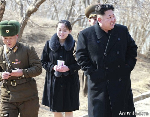 The world laughs that Kim might think we believe him.