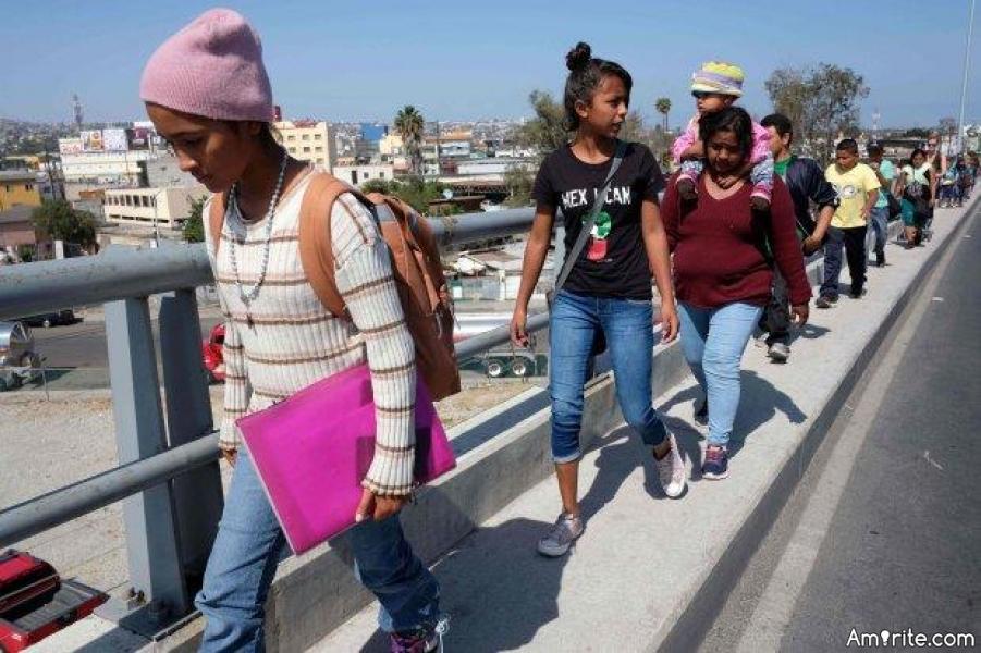 Central American 'Caravan' Migrants to Seek Asylum