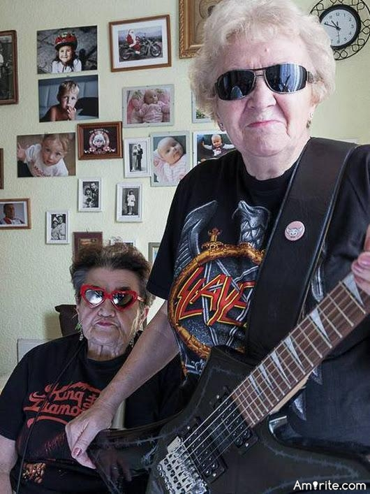 🎸 Can old people still rock out? If you say yes prove it by posting a video.