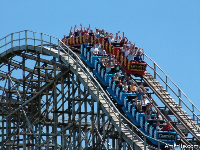 Are you a daredevil when it comes to amusement park rides, such as roller coasters, ferris wheels, swings, etc?   How safe do you feel when on any of those rides?