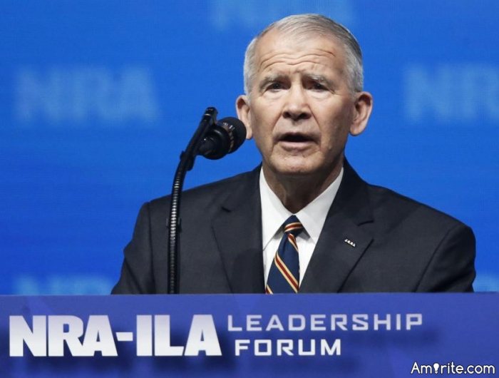 Oliver North just named as next President of the NRA.  Should Felons be allowed to have guns?