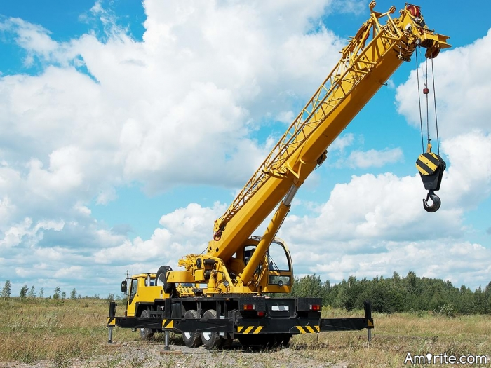 Are you having an affair with a crane?